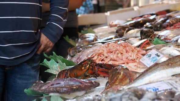 Thumbnail for Scenes Of The Rialto Food Market In Venice (7 Of 22)