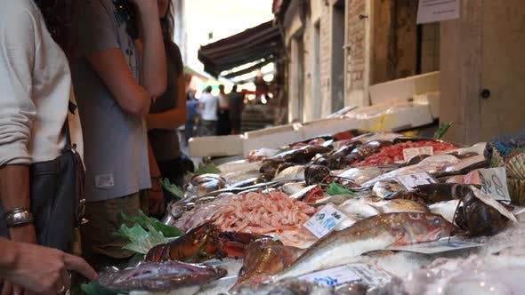 Thumbnail for Scenes Of The Rialto Food Market In Venice (8 Of 22)