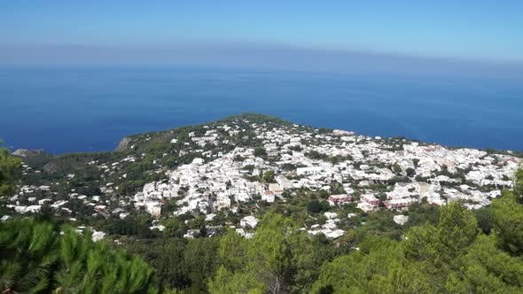 Thumbnail for View From The Mount Solaro Chair Lift On The Isle Of Capri (6 Of 7)