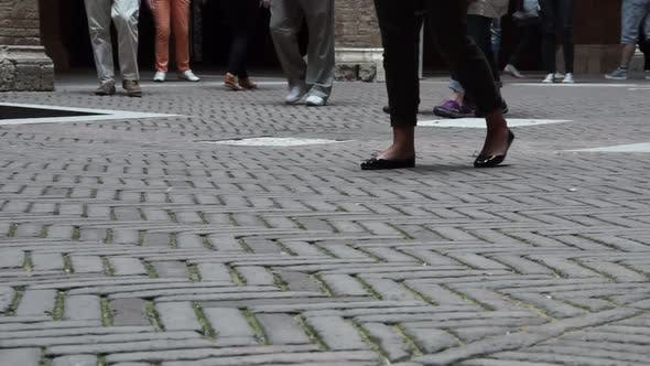 Thumbnail for People Walking In Siena Italy (6 Of 6)