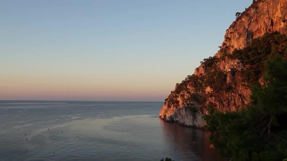 Scenes From Marina Piccola On The Isle Of Capri (2 Of 3)