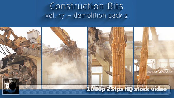 Thumbnail for Construction Bits 17 -- Demolition Pack 2