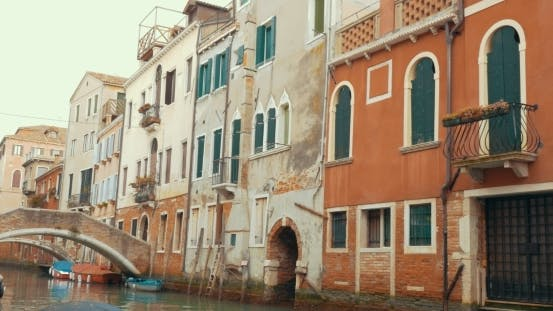 Thumbnail for Old Architecture And Canals Of Venice, Italy