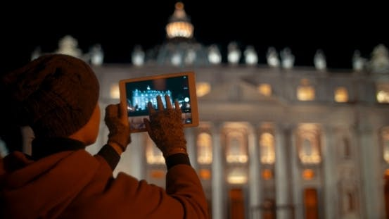 Thumbnail for Making Touch Pad Photos Of Night St. Peters