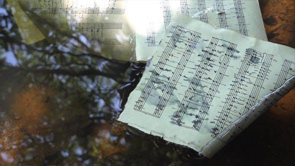 Hand-Written Musical Notation 8