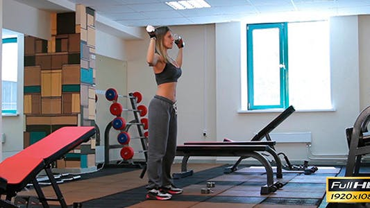 Thumbnail for Athlete In The Gym