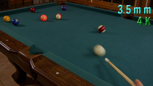 Thumbnail for Hitting Pool Ball In A Pocket Billiards Game 6