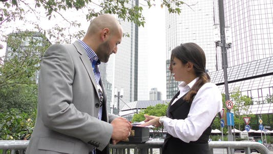 Thumbnail for Business People Teamwork Concept Outdoor 4