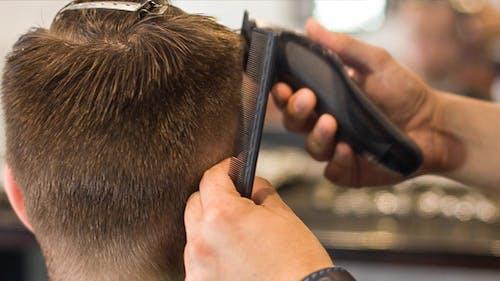 Cutting Hair Machine