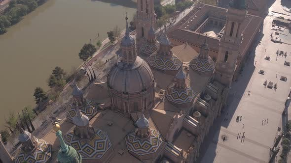 Thumbnail for Aerial of the Basilica of Our Lady of the Pillar