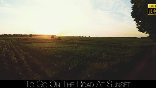 Thumbnail for To Go On The Road At Sunset 3