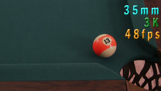 Thumbnail for Ball Spinning On A Billiards Table 15