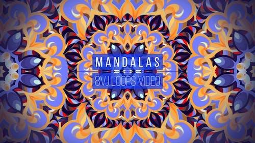 Symmetry Mandalas Pack (8 In 1)