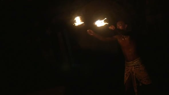 Thumbnail for Impressive Fire Show