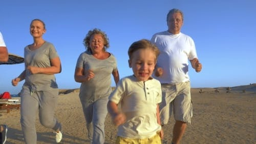 Family Vacation With Jogging In The Evenings