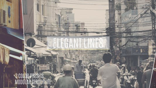 Thumbnail for Elegant Lines Slideshow
