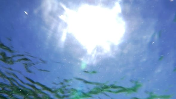 Thumbnail for Sun Reflection On Wavy Water Surface