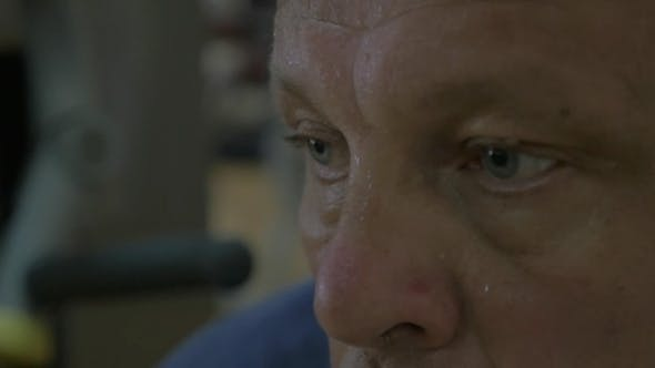 Thumbnail for Mature Man In a Sweat After Training