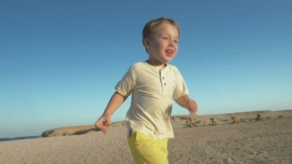 Thumbnail for Boy Running To Father