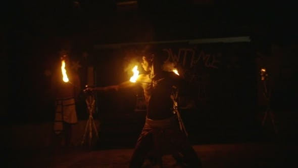 Fire Performance At Night