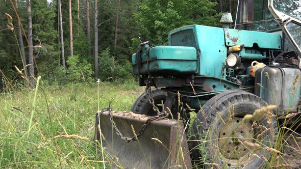 Thumbnail for Old Soviet Tractor or  Excavator