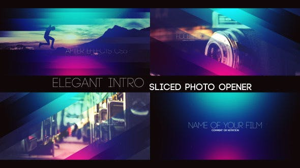 Thumbnail for Elegant Intro - Sliced Photo Opener