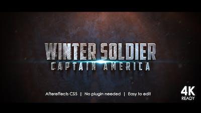 Winter Soldier Cinematic Trailer