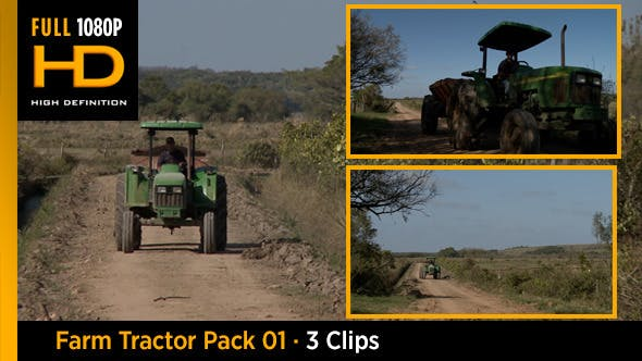 Thumbnail for Farm Tractor Pack 01