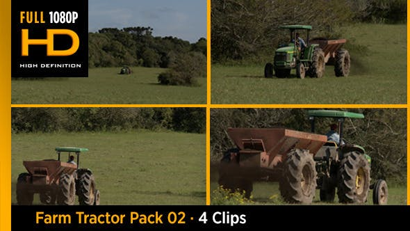 Thumbnail for Farm Tractor Pack 02