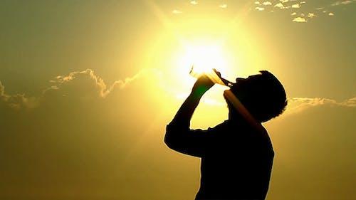Thirsty Man under the Sun