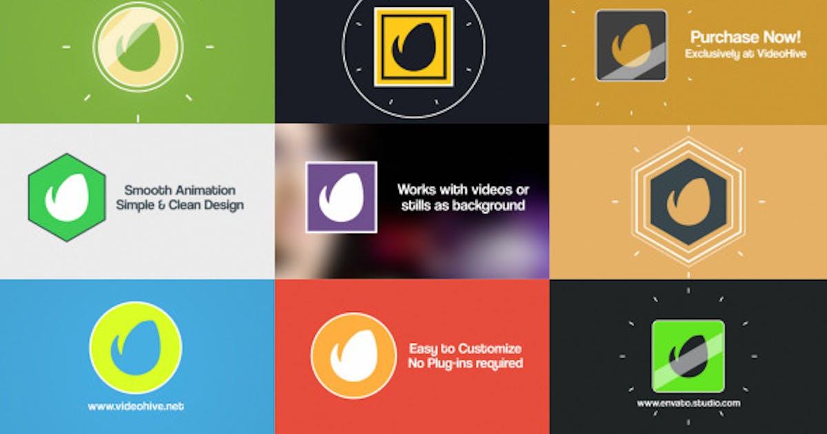 Download Simple Flat Logo Reveal Pack by Stefoto