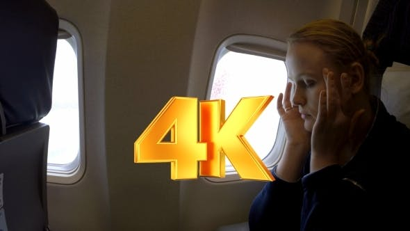 Thumbnail for Woman In The Plane Feeling Sick