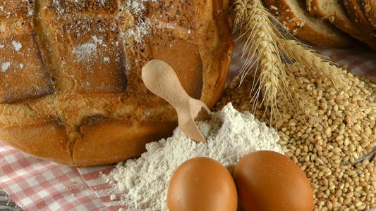 Thumbnail for Bread Wheat Egg and Flour Concept 2