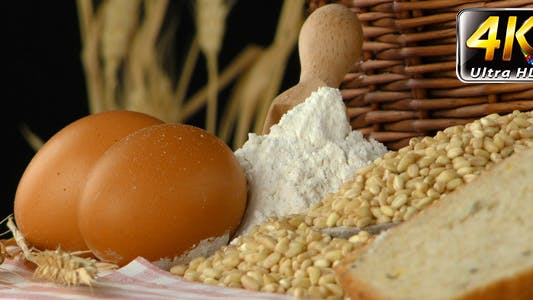 Cover Image for Bread Wheat Egg and Flour Concept 9