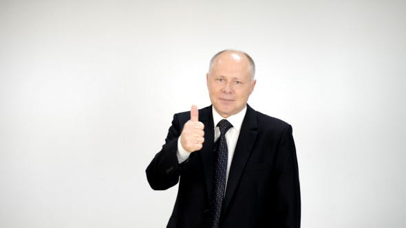 Thumbnail for Businessman Showing Thumb Up Sign