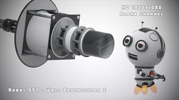 Thumbnail for Robot SS2 - Wall Destruction 2