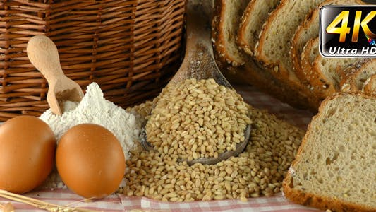 Thumbnail for Bread Wheat Egg and Flour Concept 19