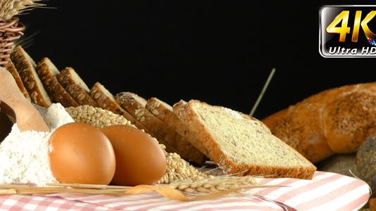 Thumbnail for Bread Wheat Egg and Flour Concept 20