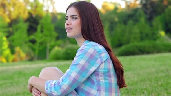Thumbnail for Beautiful Girl Relaxing In a Field