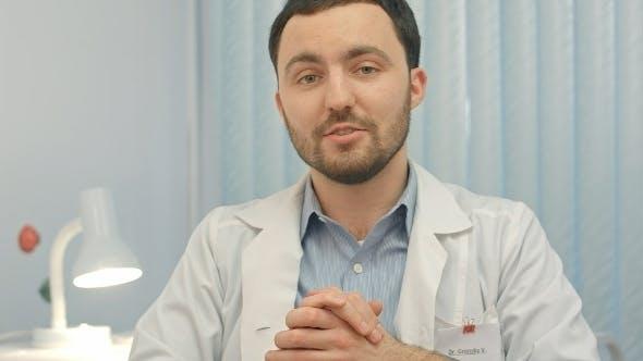 Thumbnail for Doctor Say On Camera At Hospital