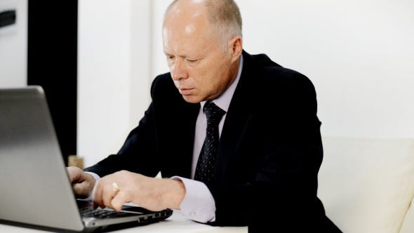 Thumbnail for Businessman Busy Working Online