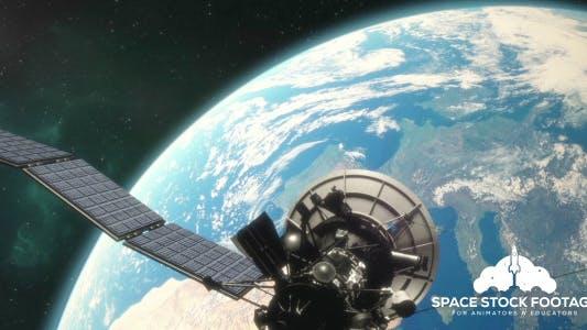Thumbnail for Satellite in Orbit