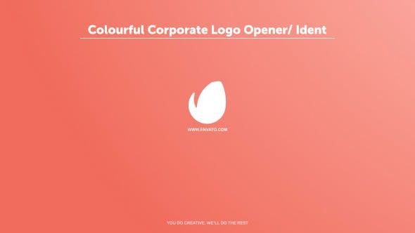 Thumbnail for Colourful Corporate Logo Opener / Ident
