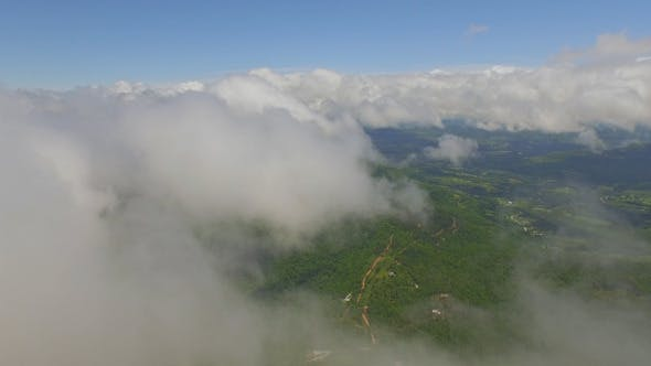 Thumbnail for Aerial View Above Clouds
