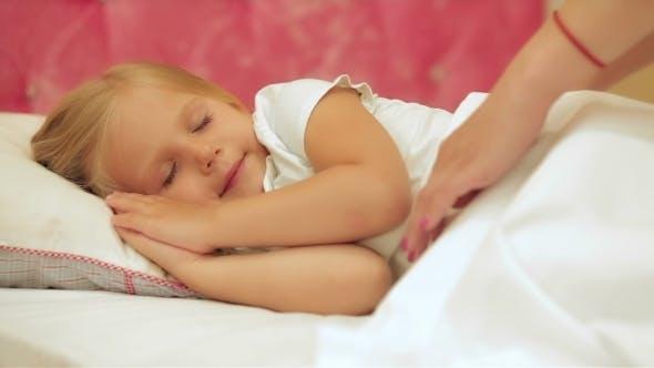Thumbnail for Beautiful Little Girl Sleeping