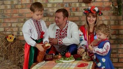 Ukrainian Family Dinner
