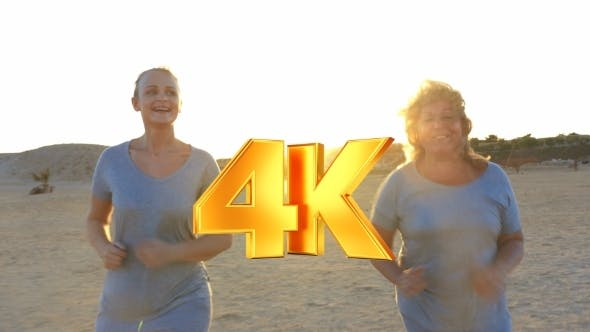 Thumbnail for Mother And Daughter Jogging