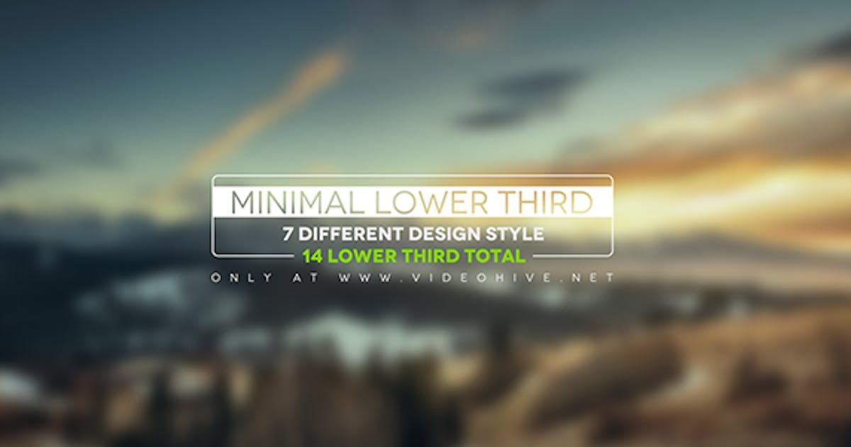 Download Minimal Lower Thirds by iluzie