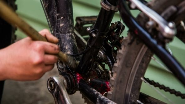 Thumbnail for Human Hand Washing Professional Bicycle With Brush