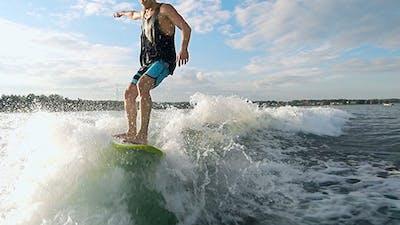 Cool Wakesurfer